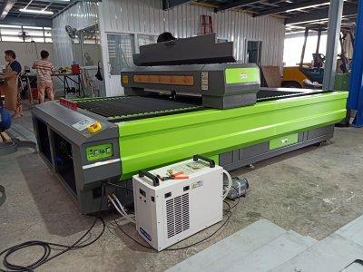 ส่งมอบเครื่อง Laser CO2 150w จำนวน 1 เครื่อง พิกัดปทุมธานี