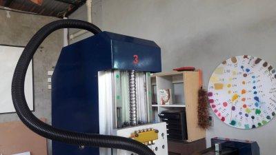 ส่งมอบเครื่อง CNC  ONLINE 3.5 KW พิกัดชลบุรี