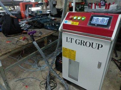 ส่งมอบเครื่อง welding Fiber Laser 100w จำนวน  เครื่อง 1 เครื่อง พิกัด ประจวบคีรีขันธ์