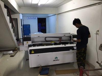 ส่งมอบ LASER CO2 CUT MACHINE 150W / JW-1325 พิกัด ราชบุรี