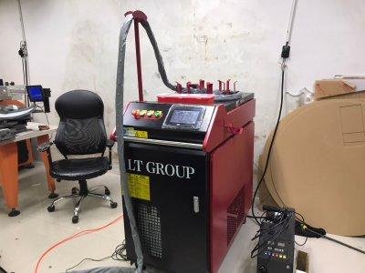 ส่งมอบเครื่อง welding Fiber Laser 1000w จำนวน 1 เครื่อง พิกัด นนทบุรี