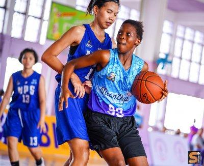 ย้อนวันวาน TBI 2020  รุ่น 18 ปีหญิง  MAHAPRUTTARAM  Vs หนุมานบ้านเพ