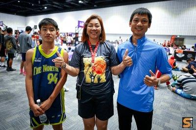 บรรยากาศการแข่งขันบาสเกตบอลสามคน ถ้วยพระราชทาน 04.12.63  EP2