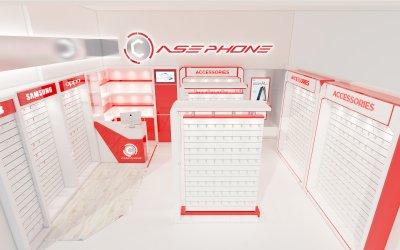 ออกแบบร้าน case phone บิ๊กซี จ.นครสวรรค์