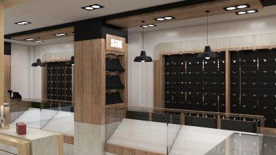 ออกแบบร้านจำหน่ายมือถือ ร้าน Call Center อ.เมือง จ. สุรินทร์