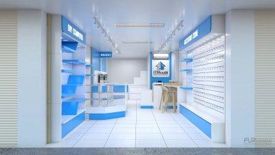 ออกแบบร้านจำหน่ายมือถือ ร้าน IT HOUSE SHOP อําเภอพระสมุทรเจดีย์ จังหวัดสมุทรปราการ