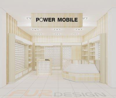 ออกแบบร้าน power mobile บิ๊กซี จ. ระนอง