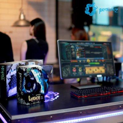 Pentagonz Gaming Gears เปิดตัวแบรนด์อย่างเป็นทางการ