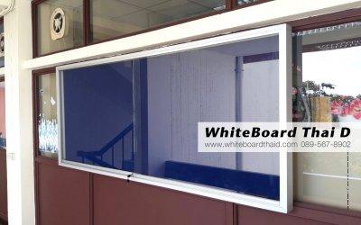 ตู้ติดประกาศ ตู้กระจก แบบแขวนผนัง