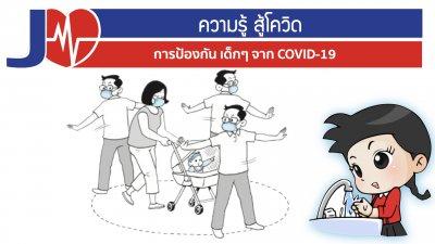 การป้องกันเด็กเล็กจากโรคโควิด19