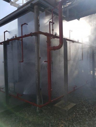 ระบบหัวกระจายน้ำดับเพลิง