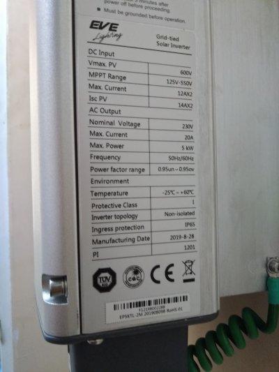 ระบบโซล่ารูฟท็อป 5 กิโลวัตต์