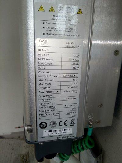 ระบบออนกริด 10 KW
