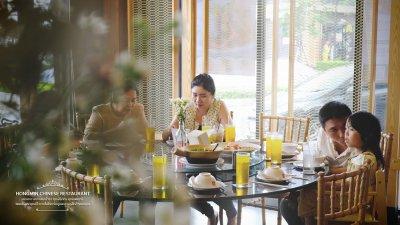 งานยกน้ำชา ที่ฮองมินสาขากาญจนาภิเษก