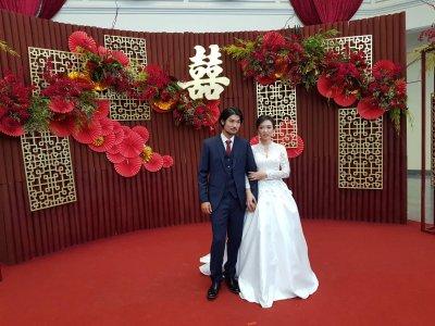 งานแต่งงาน หนุ่มอารมณ์ดีของก๊วนสาระแน สตาร์บัค พงศ์พิชญ์ ปรีชาบริสุทธิ์กุล