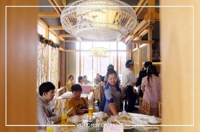 งานเลี้ยงฉลองพิธีมงคลสมรส ที่ฮองมินสาขากาญจนาภิเษก