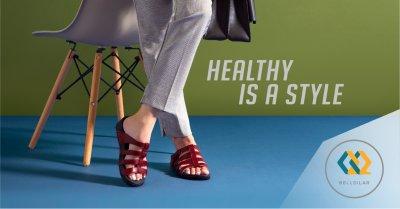 เลือกใส่รองเท้าให้เข้ากับชุดและสีผิว