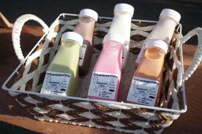 กลุ่มนมแพะ (สถานที่ท่องเที่ยวตำบลท่าสาป)