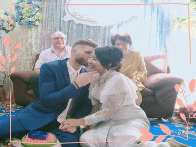 งานแต่งธีมสีฟ้าขาว
