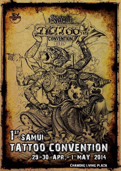 SAMUI TATTOO CONVENTION 2014