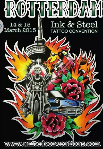ROTTERDAM TATTOO CONVENTION 2015
