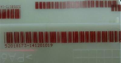 ตัวอย่างงานพิมพ์ Hitachi Inkjet Printer