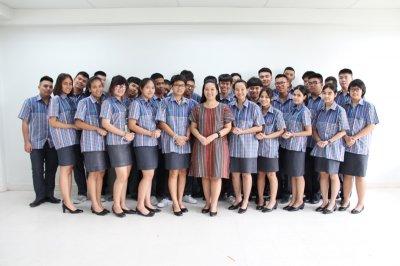 วิทยาลัยเทคโนโลยีปัญญาภิวัฒน์ (PTC) ร่วมรณรงค์สวมใส่เสื้อผ้าไทย