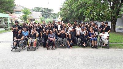 นายวินัย เก่งสุวรรณ ผู้อำนวยการศูนย์ส่งเสริมอาชีพคนพิการ