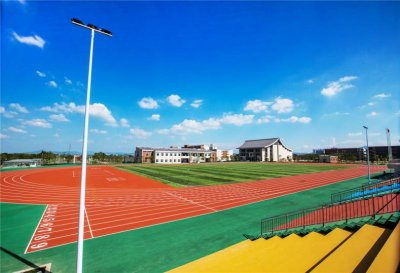 Prefabricated rubber running track projects