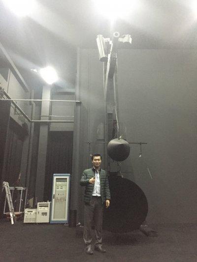 ทดสอบประสิทธิภาพโคมไฟในห้องปฏิบัติการไฟฟ้าส่องสว่าง