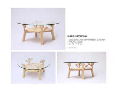 Bloom, coffee table