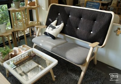 THE COUPLE 2-seater armchair
