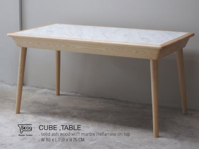CUBE marble table