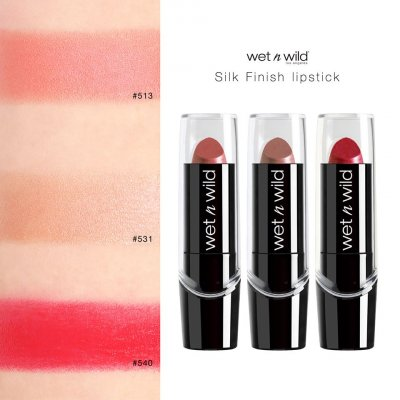 Lip Silk Finish Color SWATCH