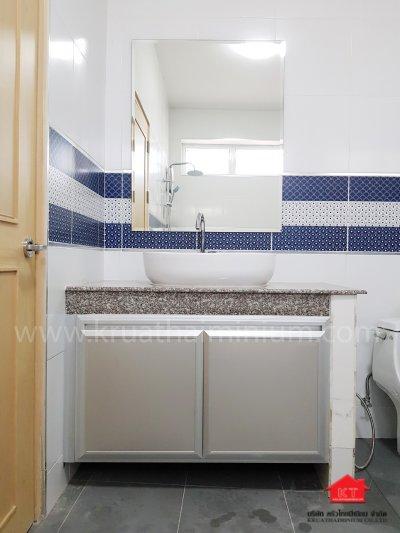 รีวิว ชุดครัว ชุดใหญ่ และเค้าน์เตอร์ห้องน้ำ