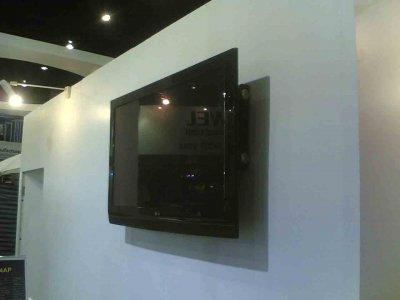 ภาพงานทีวี โปรเจคเตอร์