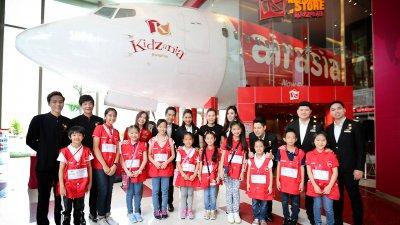 AirAsia Cabin Crew Junior campaign