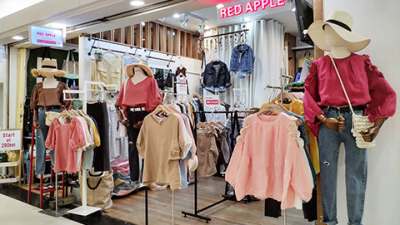 VISIT US AT RED APPLE PLATINUM MALL