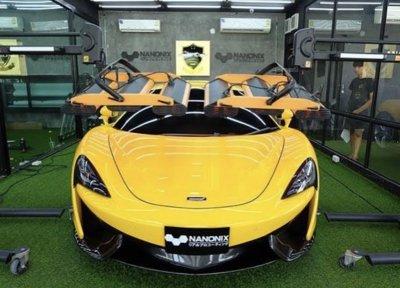 เคลือบแก้วรถยนต์ระบบพ่น NANONIX DIAMOND รถ Super Car Mclaren ที่สุดของการเคลือบปกป้องสีรถยนต์ และความเงาระดับตำนาน