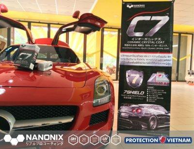 NANONIX C7 on Mercedes Benz SLR