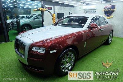 เคลือบแก้วเซรามิคระบบพ่น NANONIX CERAMIC 2K รถ Rolls-Royce Phantom