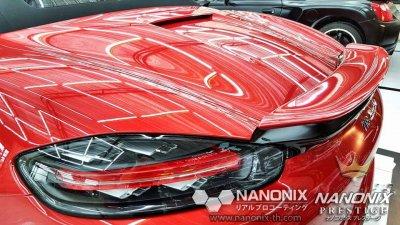 เคลือบแก้วเซรามิคระบบพ่น NANONIX CERAMIC 2K รถ PORSCHE CAYMAN 817