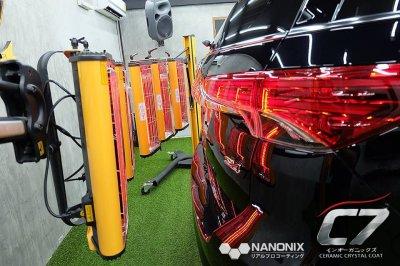 เคลือบแก้วเซรามิค C7 NANONIX - Ceramic Crystal Coating รถ Toyota Fortuner