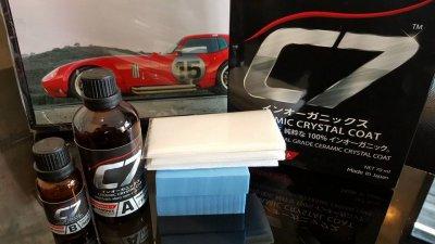 เคลือบแก้วเซรามิค C7 NANONIX - Ceramic Crystal Coating รถ Mitsubishi Pajero