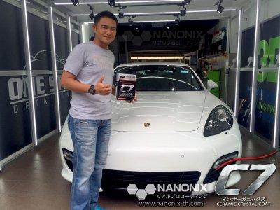 เคลือบแก้วเซรามิค C7 NANONIX - Ceramic Crystal Coating รถ Porsche