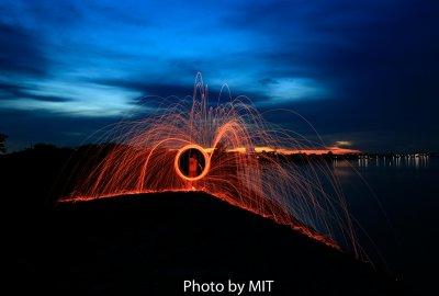 Activities revolving lights