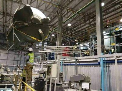 งานย้ายแท้งค์ขนาด 30000ลิตร. โรงงานเมอกาโต้ เมดิคอล