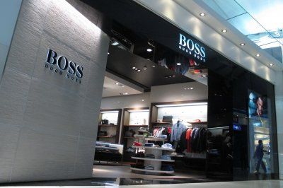 Hugo Boss Suvarnabhumi Airport