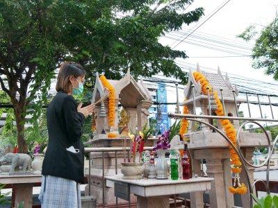 中元节祭拜活动