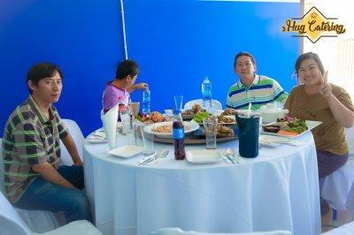 อาหารชุด โต๊ะจีน (Table for 10)